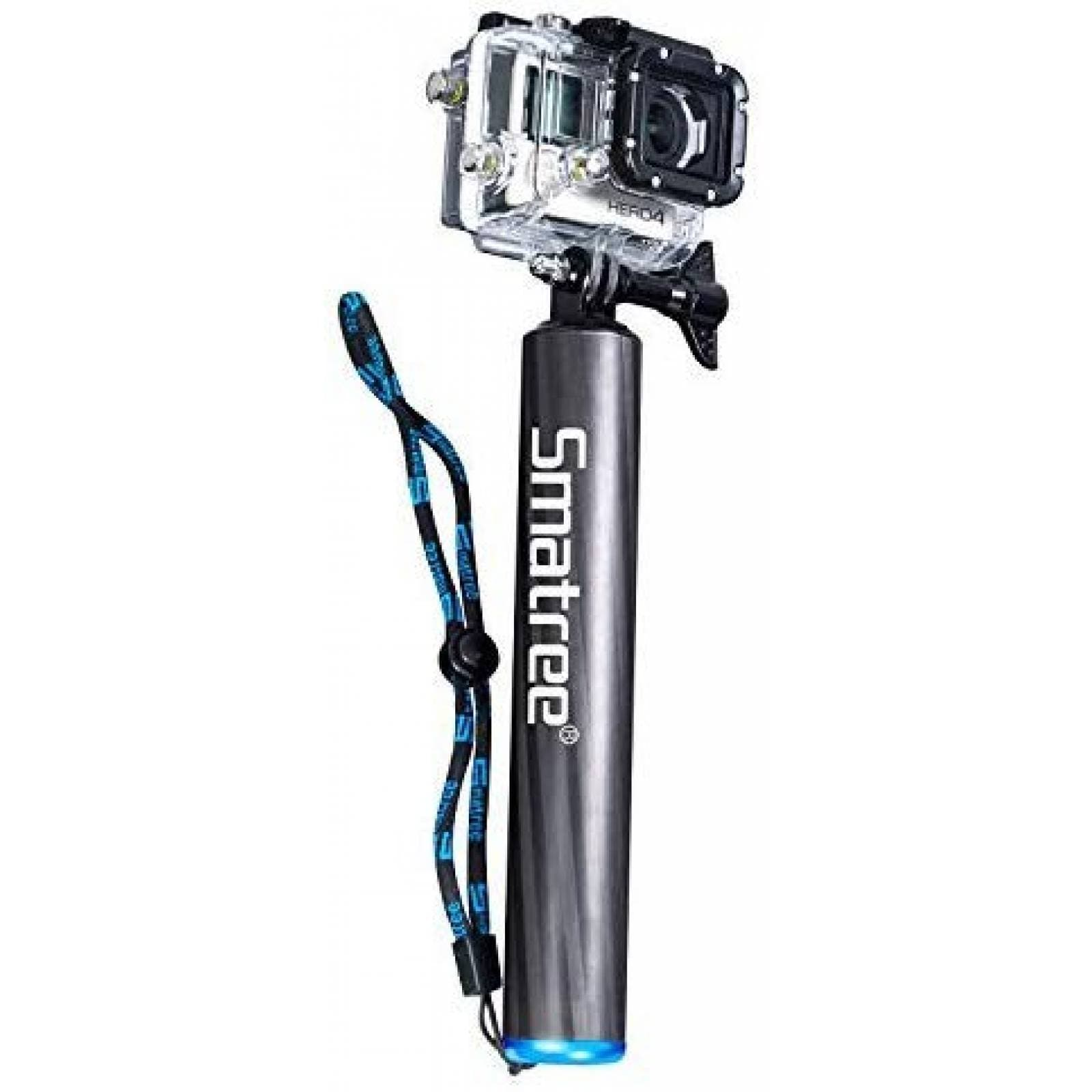 Selfiestick Smatree F2 flotante fibra de carbono -Negro