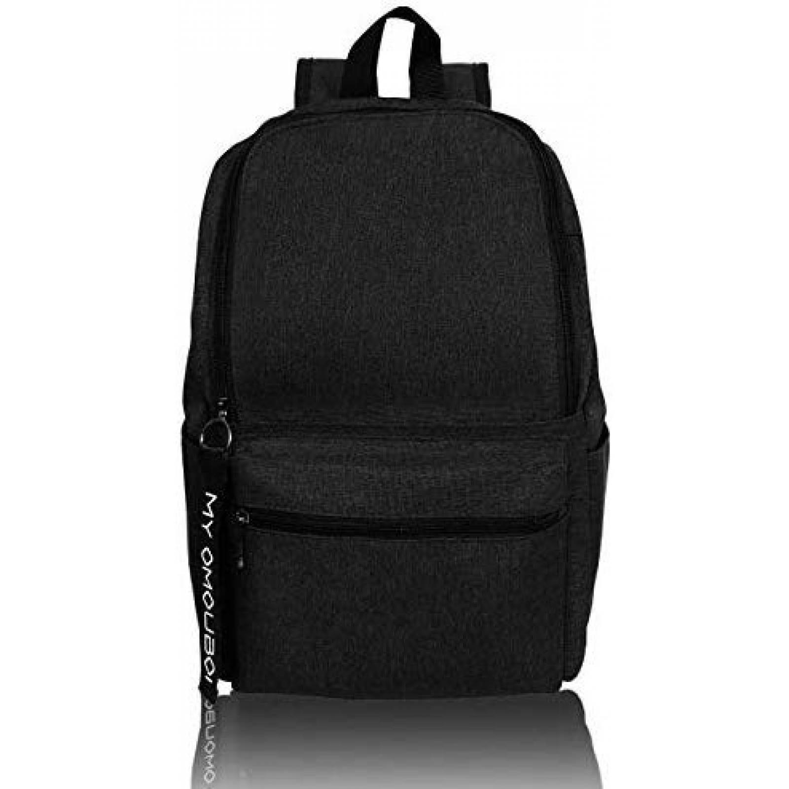 Mochila OMOUBOI Superbreak Backpack de Canvas Casual -Negro