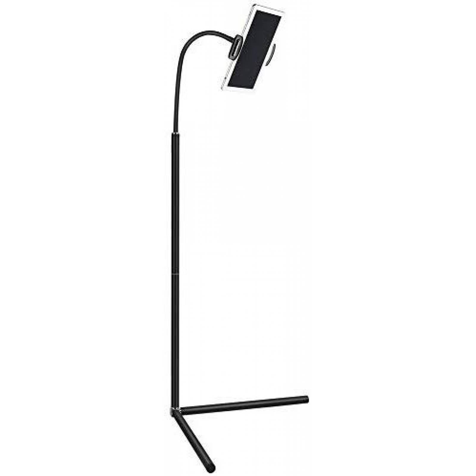 Soporte de pie Anyike p/tablet altura ajustable 360° -Negro