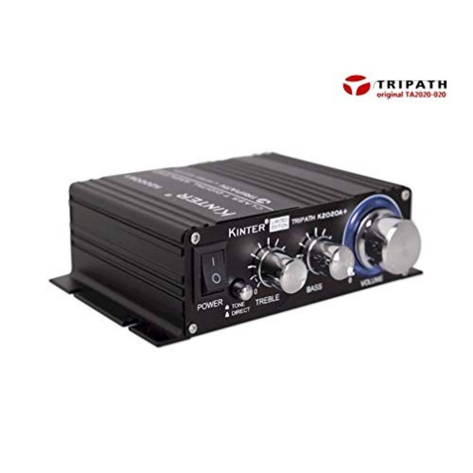 Amplificador Kinter k2020 a Edición Limitada 12 V 5 A -Negro