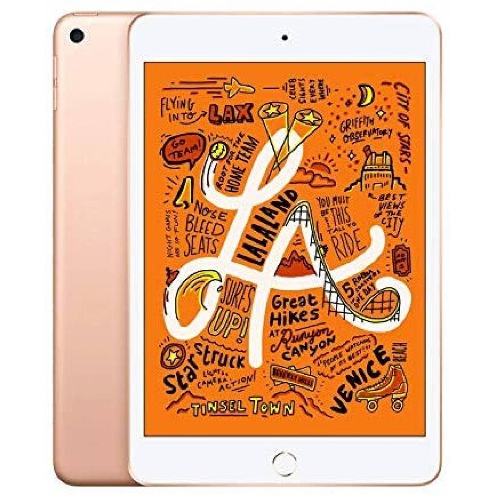 iPad Apple Mini 7.9'' 64GB Wifi 802.11ac 10hrs -Dorado