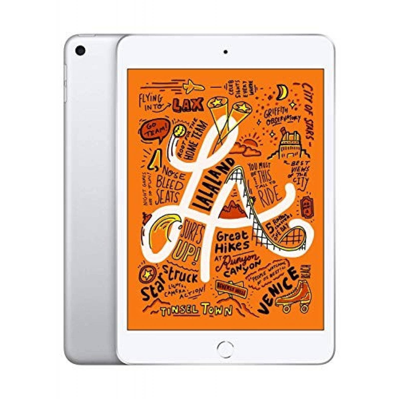 iPad Apple Mini 7.9'' 64GB Wifi 802.11ac 10hrs -Plateado