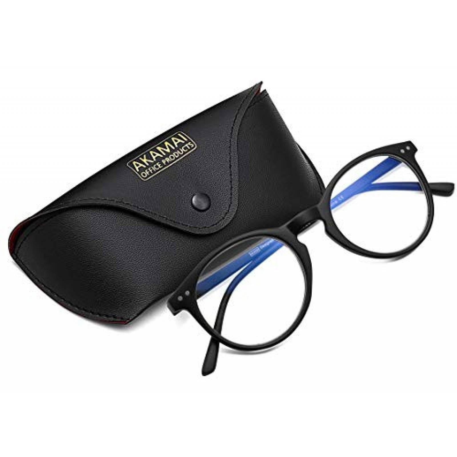 Gafas Bloqueo de Luz Azul Akamai Office Products +0.0 -Negro
