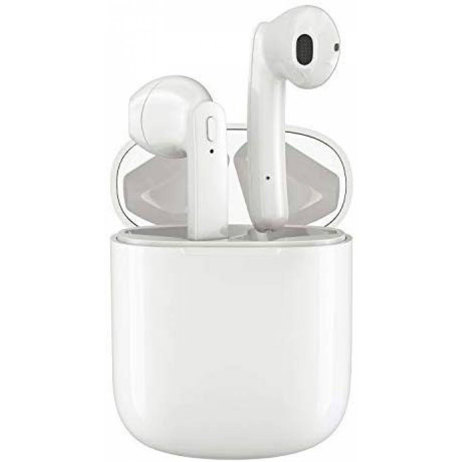 Audífonos Rademax T12 Bluetooth Cancelan Ruido IPX5 -Blanco