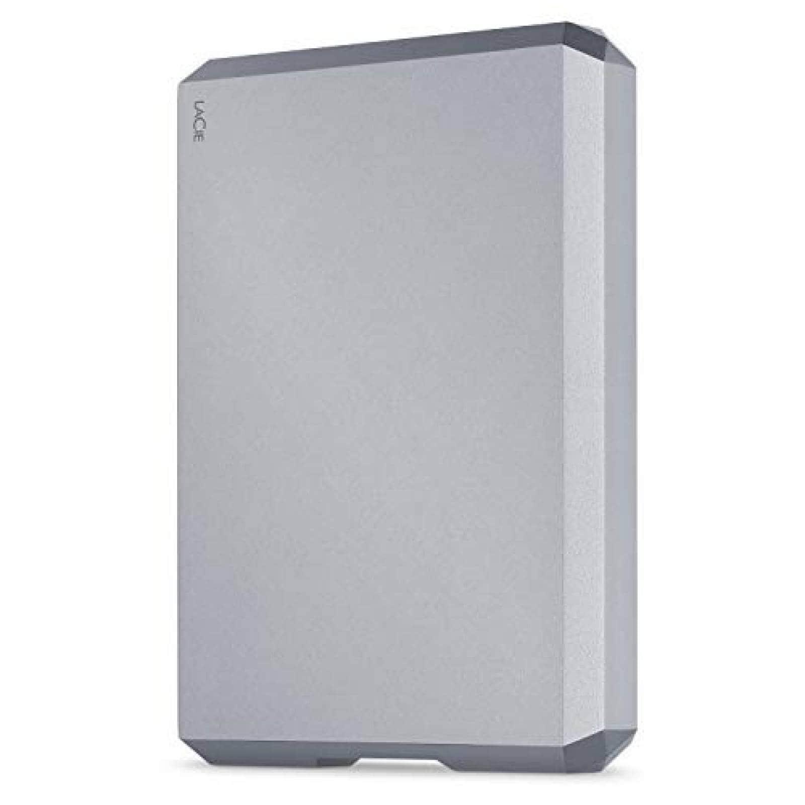 Disco Duro Externo LaCie STHG5000402 de 5TB USB-C USB 3.0
