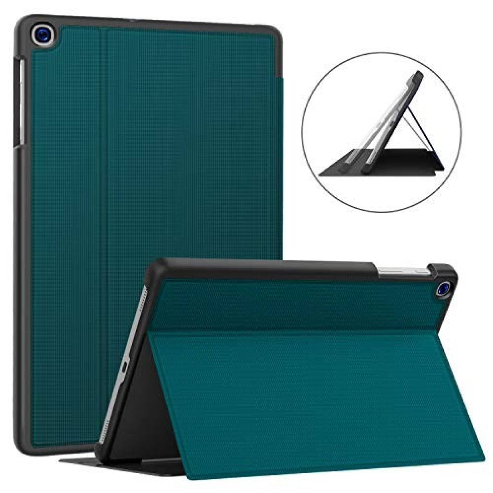 "Funda Soke Galaxy Tab A 10.1"" de TPU -Verde Azulado"