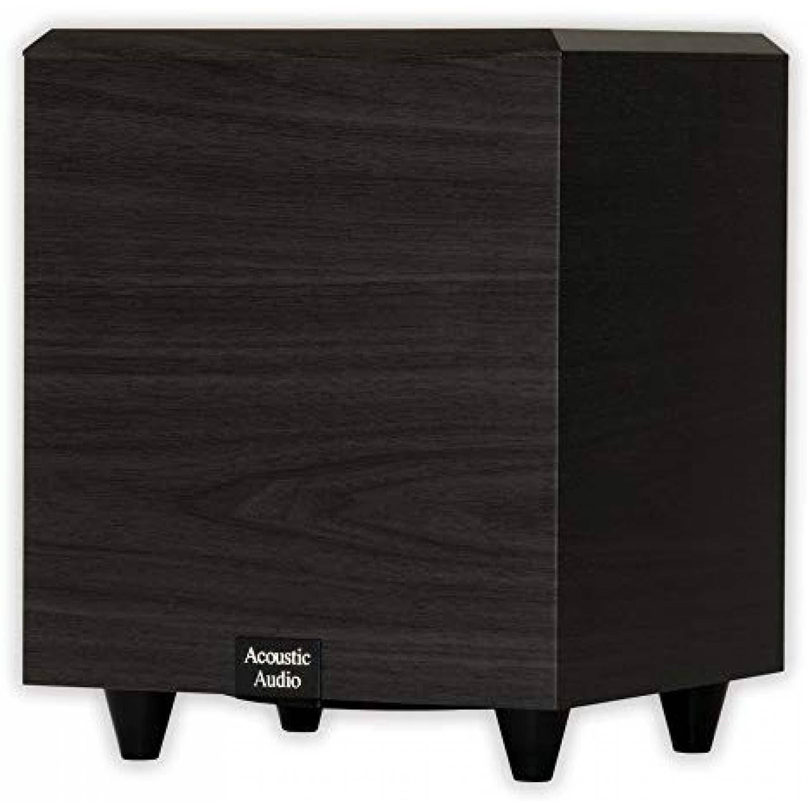 Bocina Acoustic Audio PSW-6 Subwoofer 6.5'' 250W -Negro