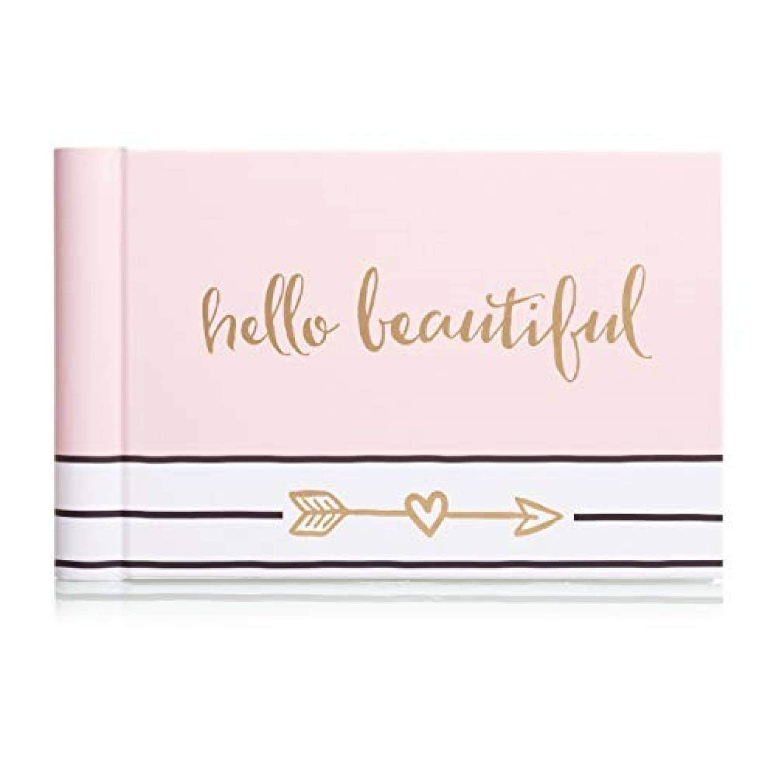 Álbum de Fotos Pearhead Hello Beautiful de 13 Hojas -Rosa