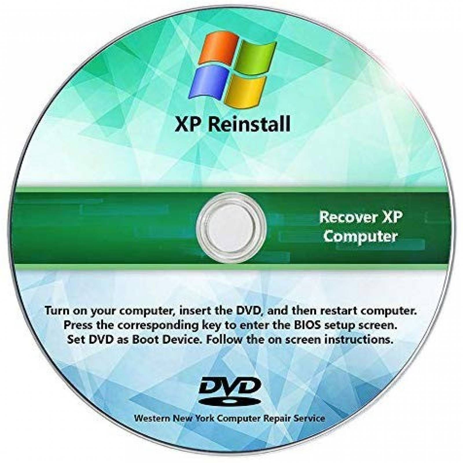 Cd De Recuperacion Recoveryessence Para So Windows Xp