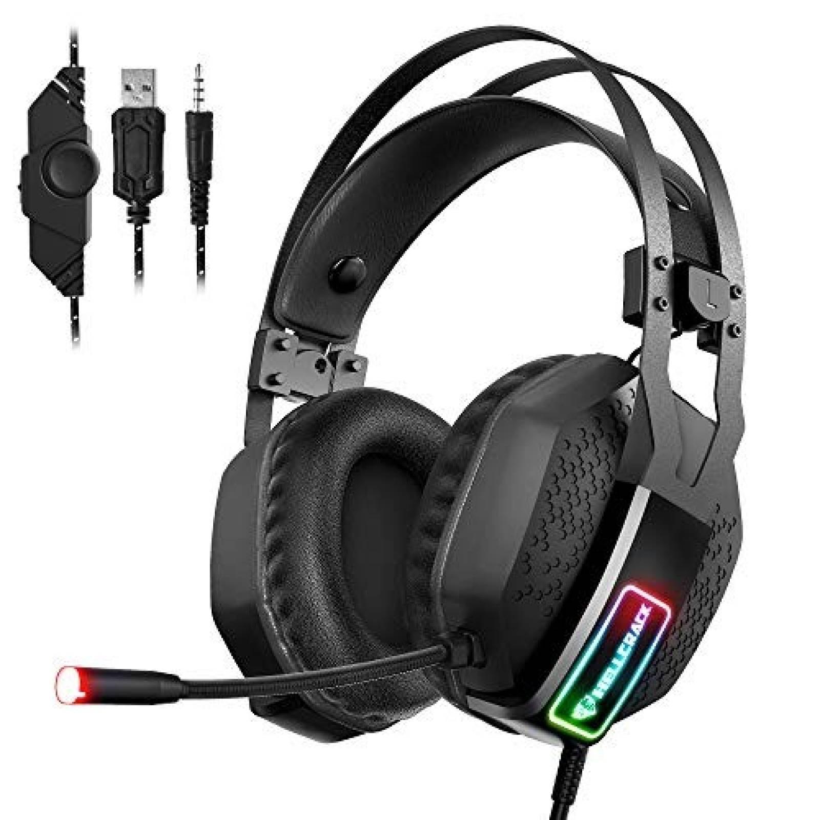 Diadema Gamer Mifanstech V-10 Sonido Envolvente -Negro