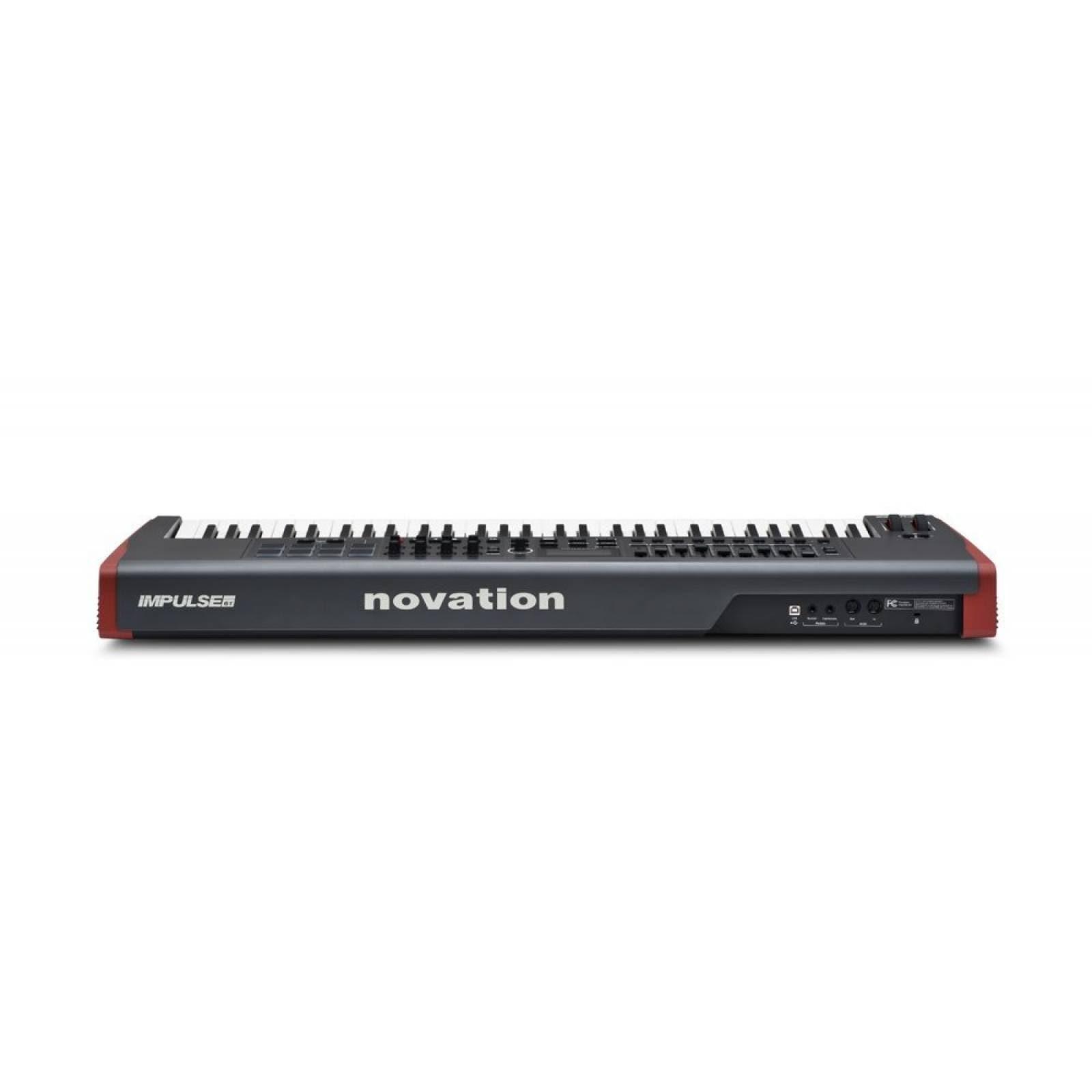 Novation Impulse 61 USB Midi controlador teclado 61 teclas