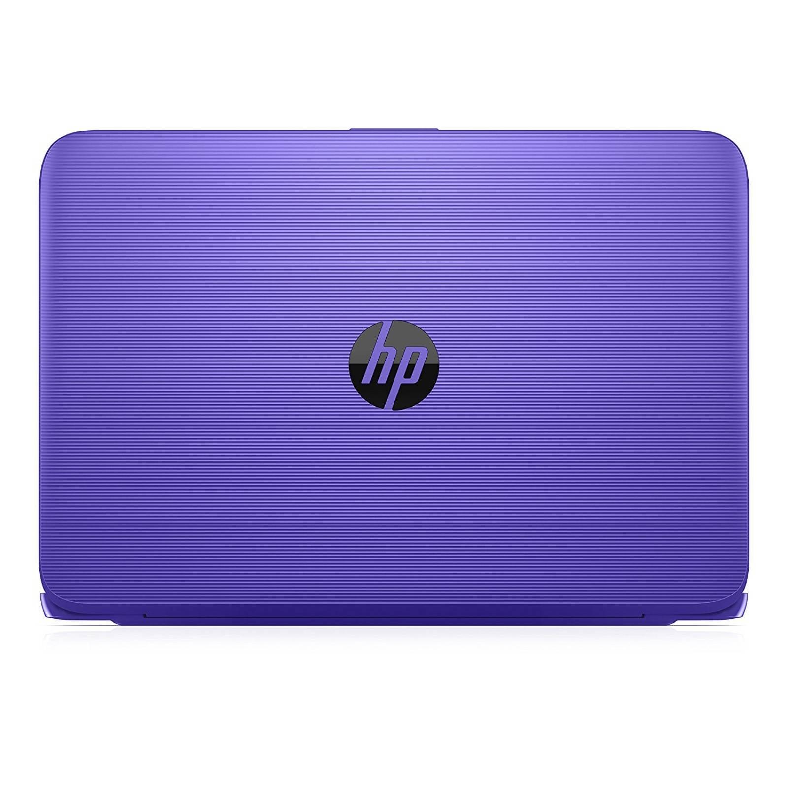Laptop Hp Stream Laptop 11y020nr 4gb Ram 32gb Emmc -morado