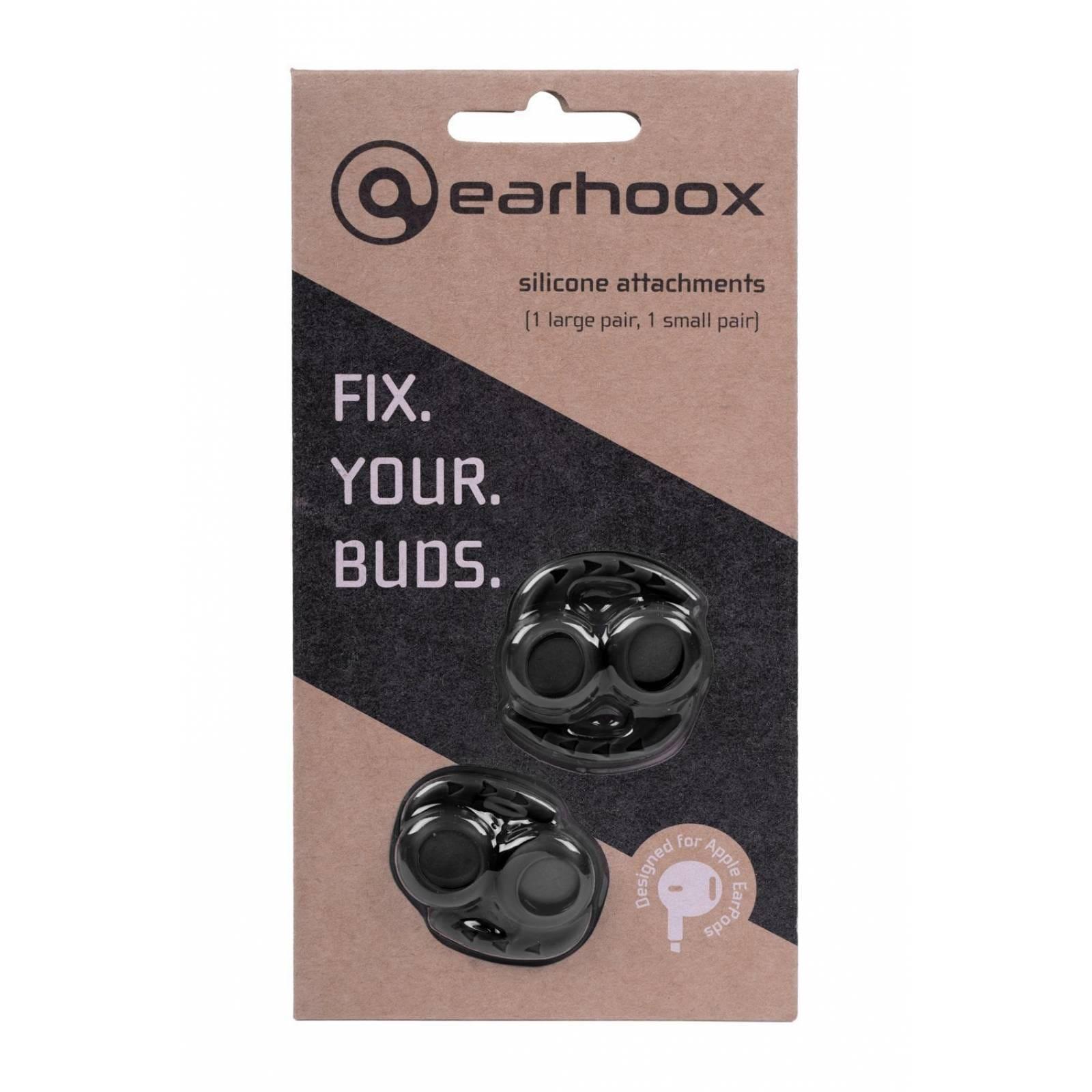 Earhoox 2.0 - EarPods Apple & AirPods-negro -Negro