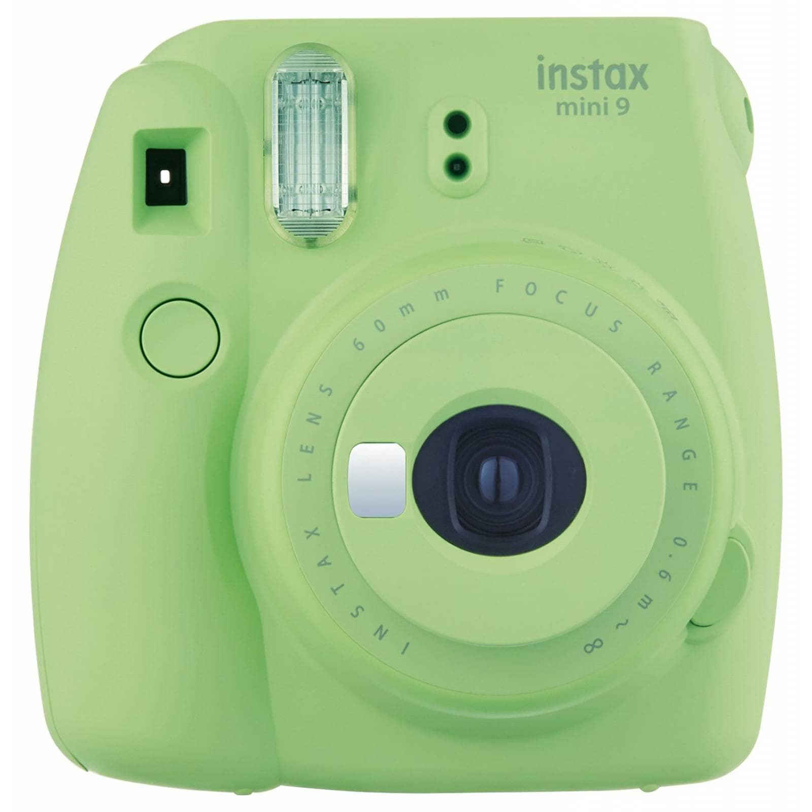 Cámara Instax Mini 9 Fujifilm Para Fotos Instantáneas -verde