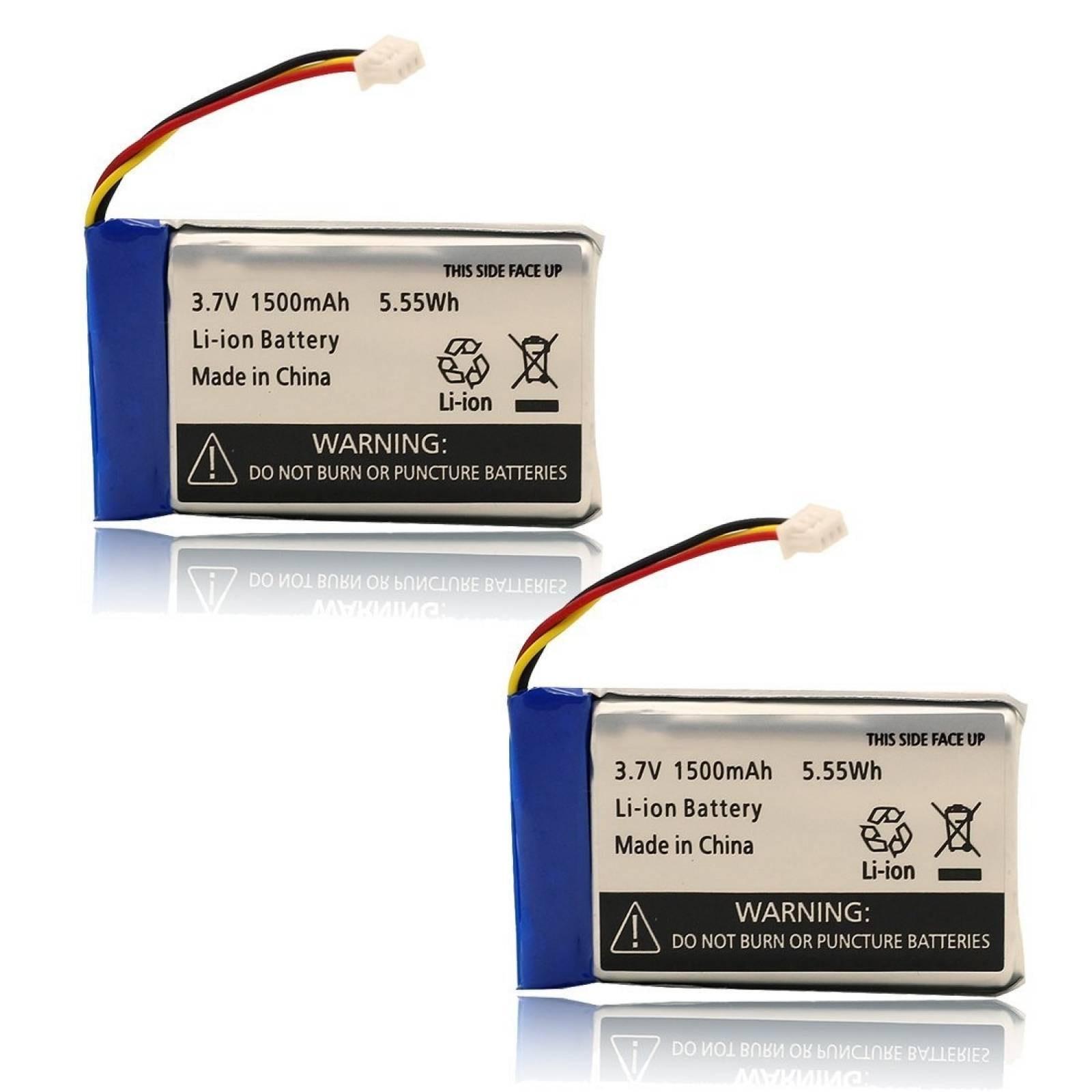 Baterías Aotu 2 Pack Para Monitor Bebé Infant Optics Dxr-8