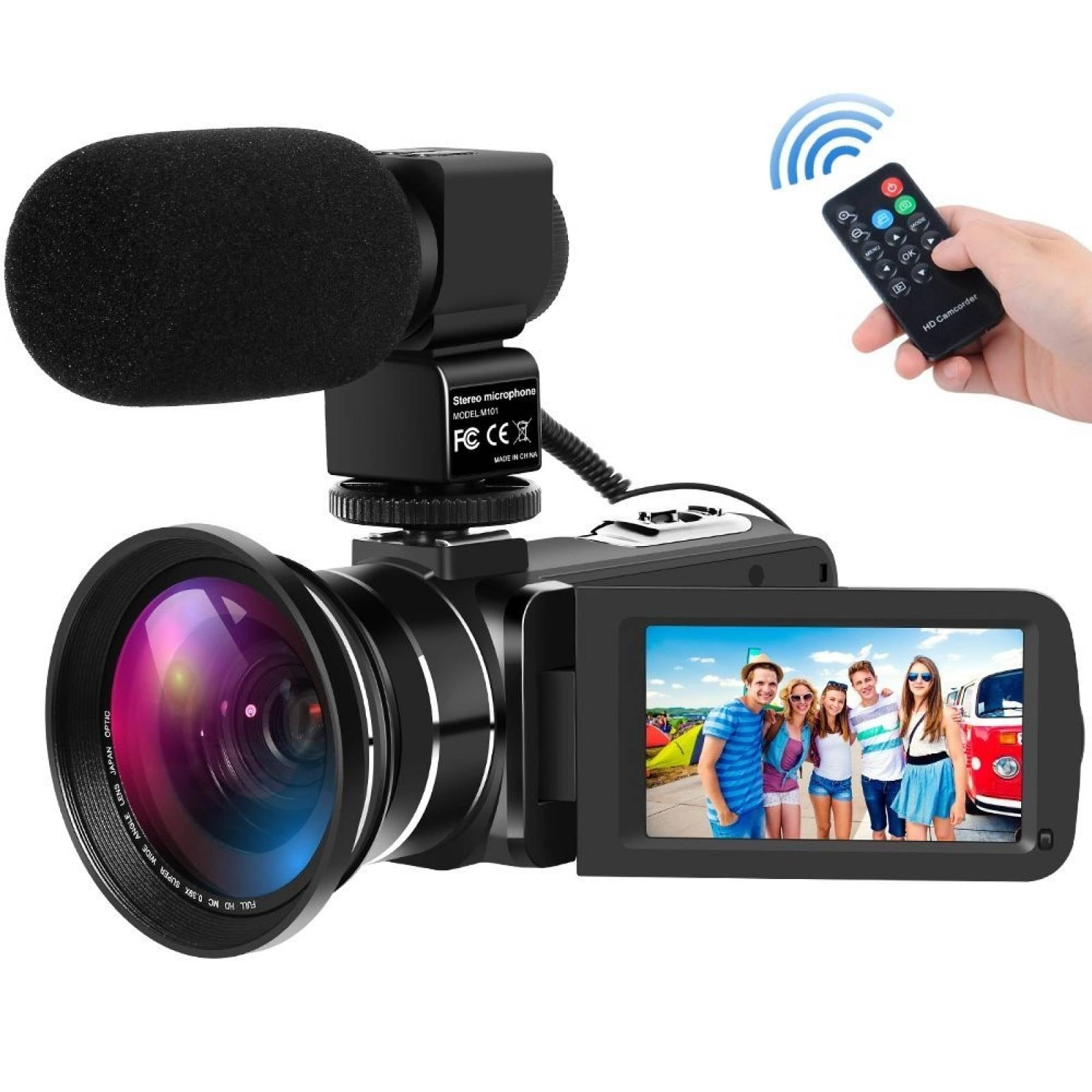 Videocámara Hd 30fps 24mp 16x D. Zoom V.nocturna C Microfono
