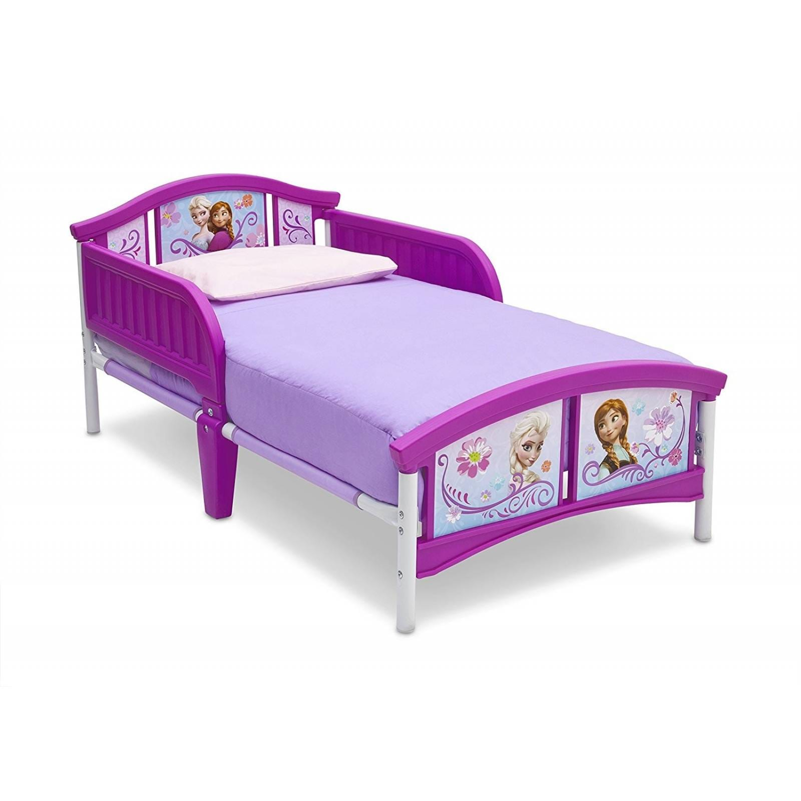 Cama Infantil Delta Children Disney Frozen Hasta 22kg -rosa