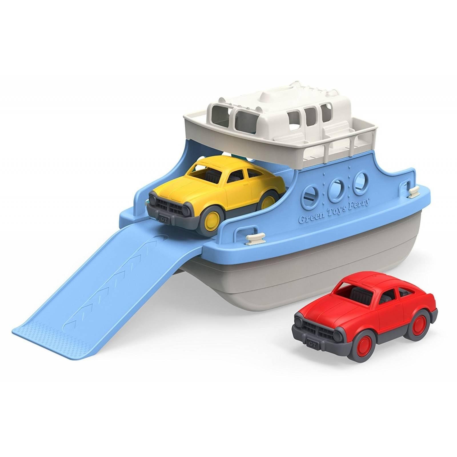 Green Baño Barquito De Juguete Bote Para Ferry Azul Toys pUzMGqSV