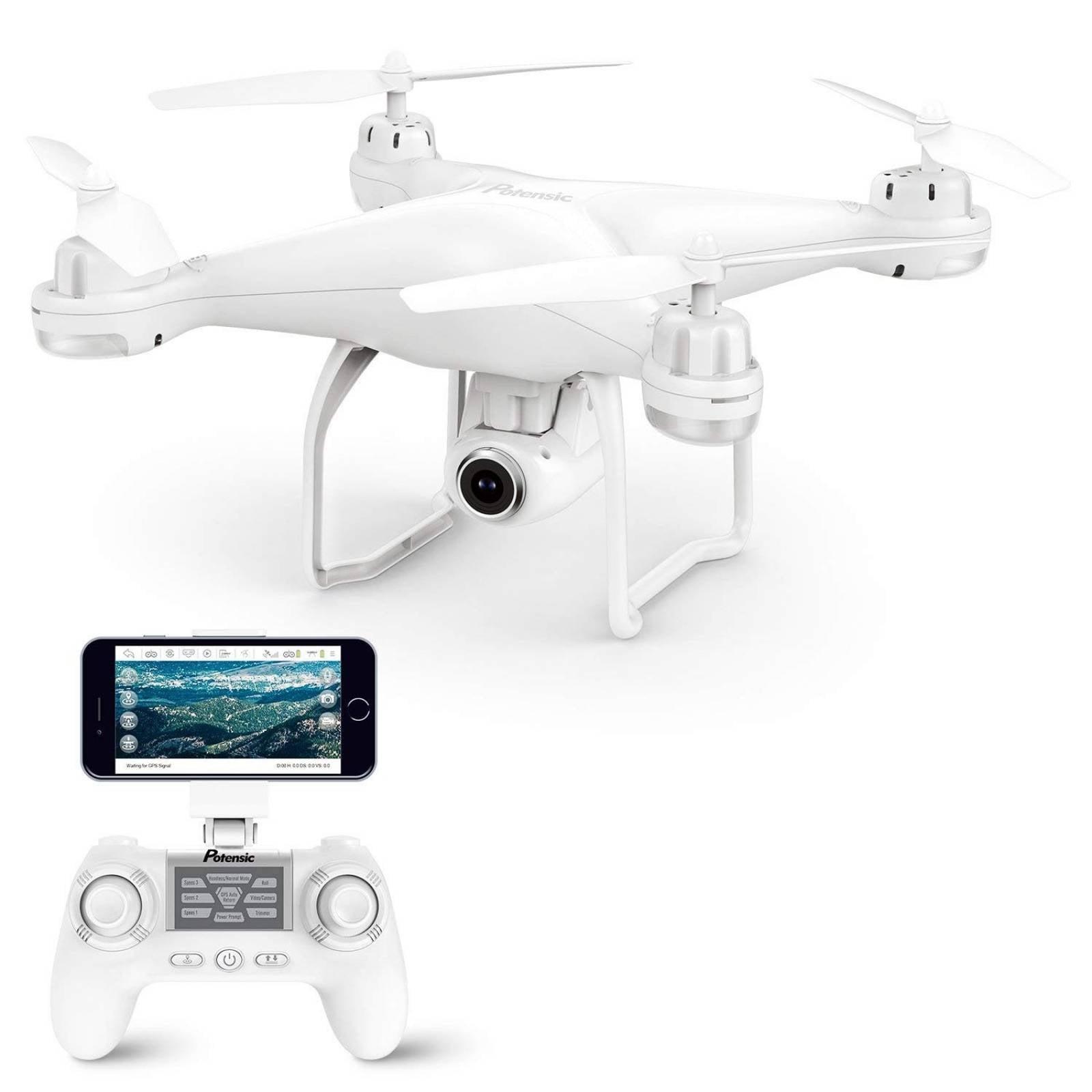 Drone cuadricóptero Potensic T25 GPS cámara 1080P HD WIFI -b