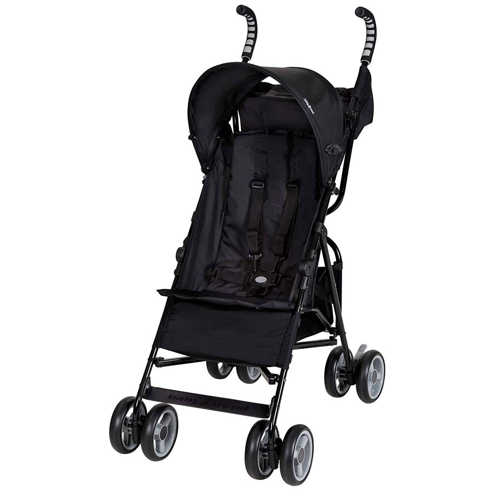 Carriola Ligera Plegable Baby Trend -Negro