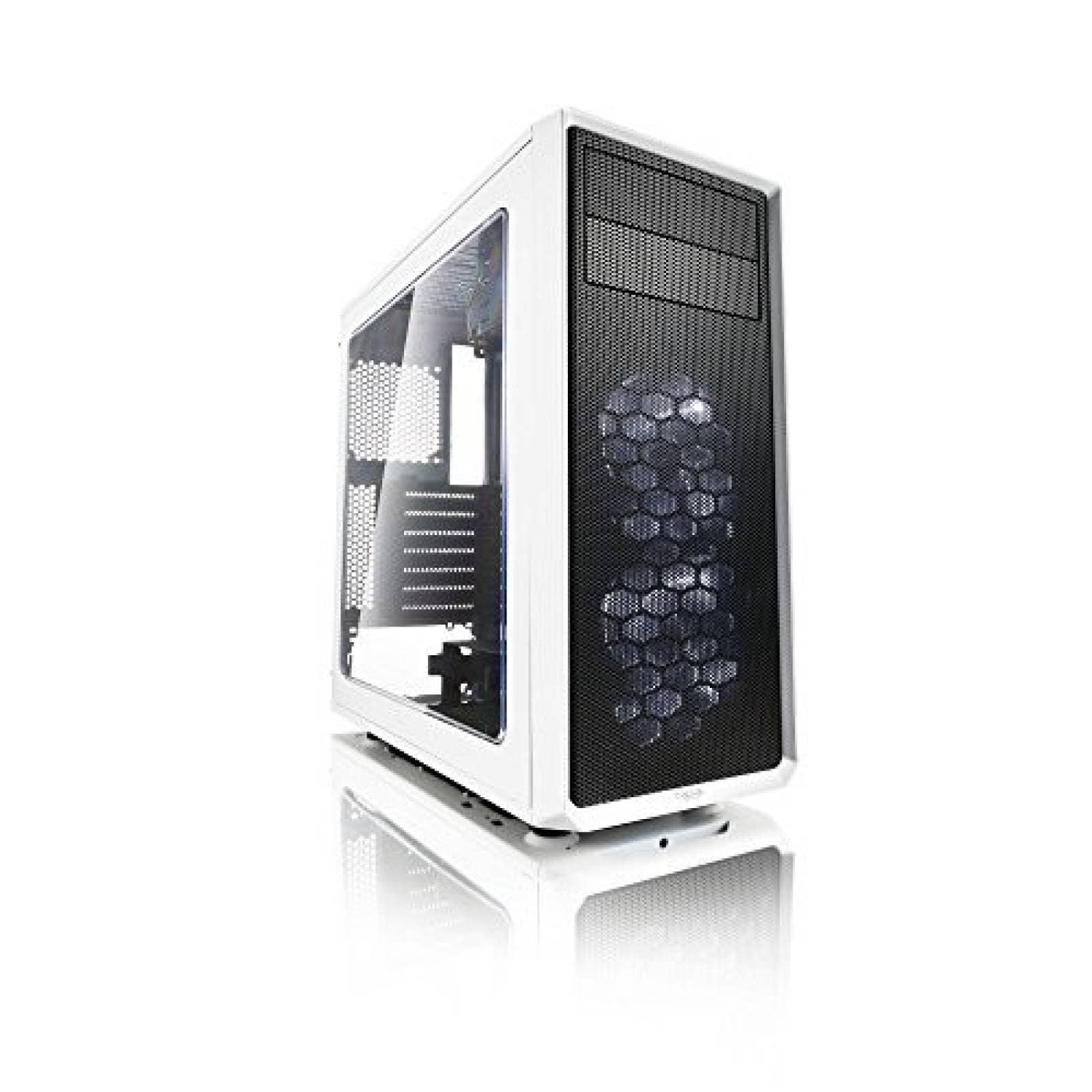 Gabinete para PC Fractal Design FD CA Focus WT W ATX -Blanco