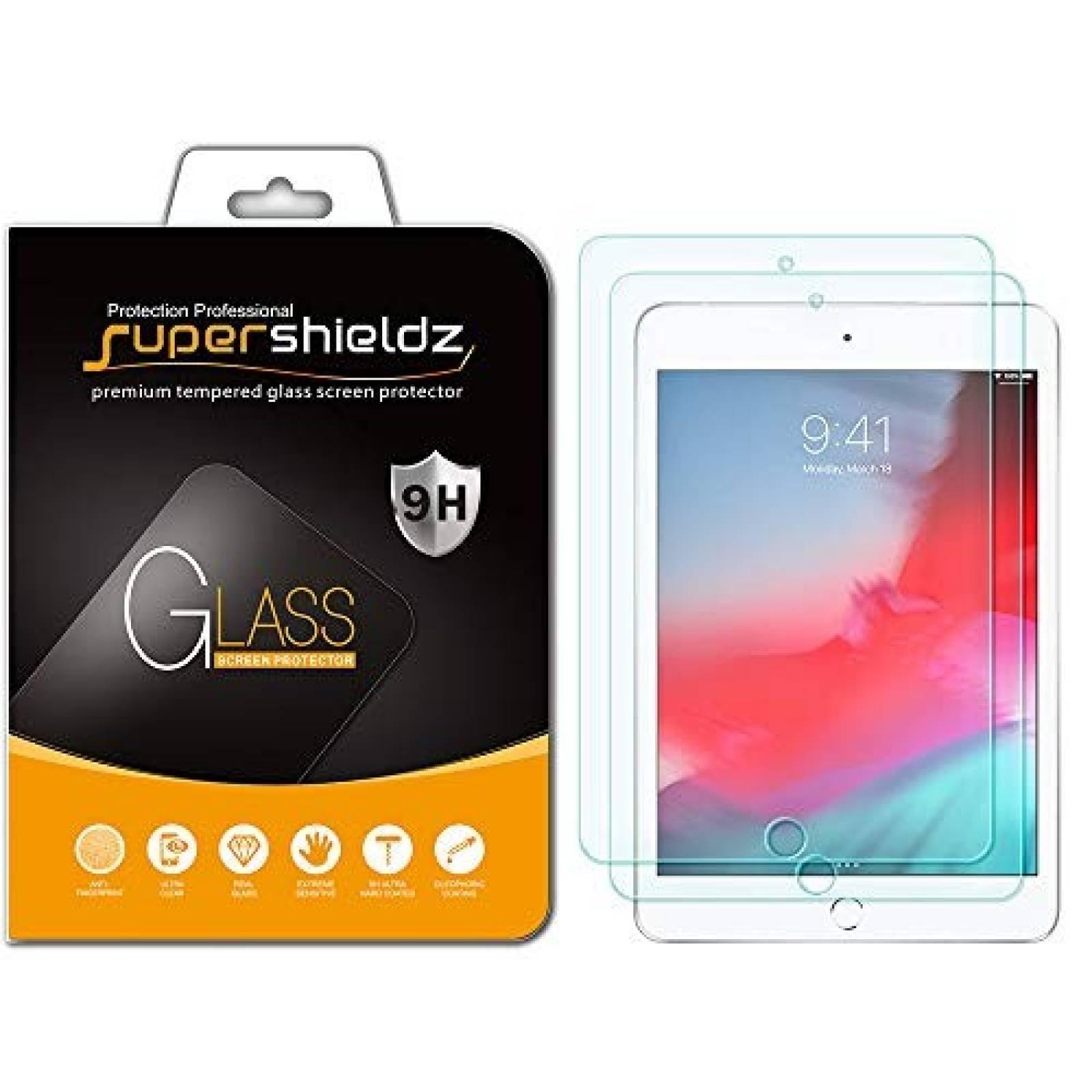 Protectores cristal templado Supershieldz iPad Mini 4 5 2pzs