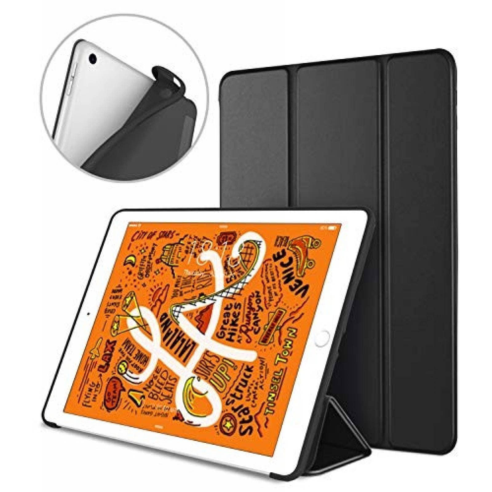 Funda DTTO para iPad Mini 5th Gen con Autobloqueo -Negro