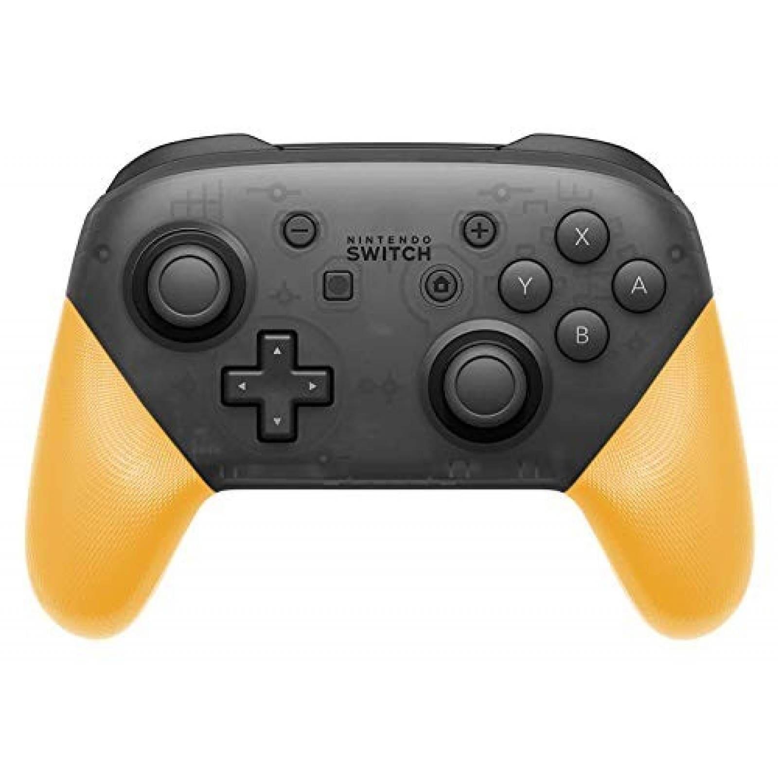 Grips de reemplazo FYOUNG para Nintendo Switch Pro -Amarillo