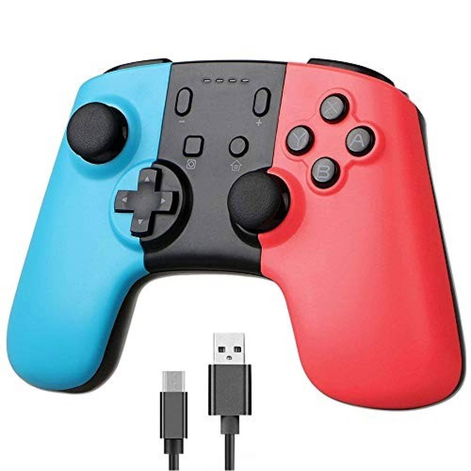 Control Gaming BISOZER para Nintendo Switch -Rojo Azul
