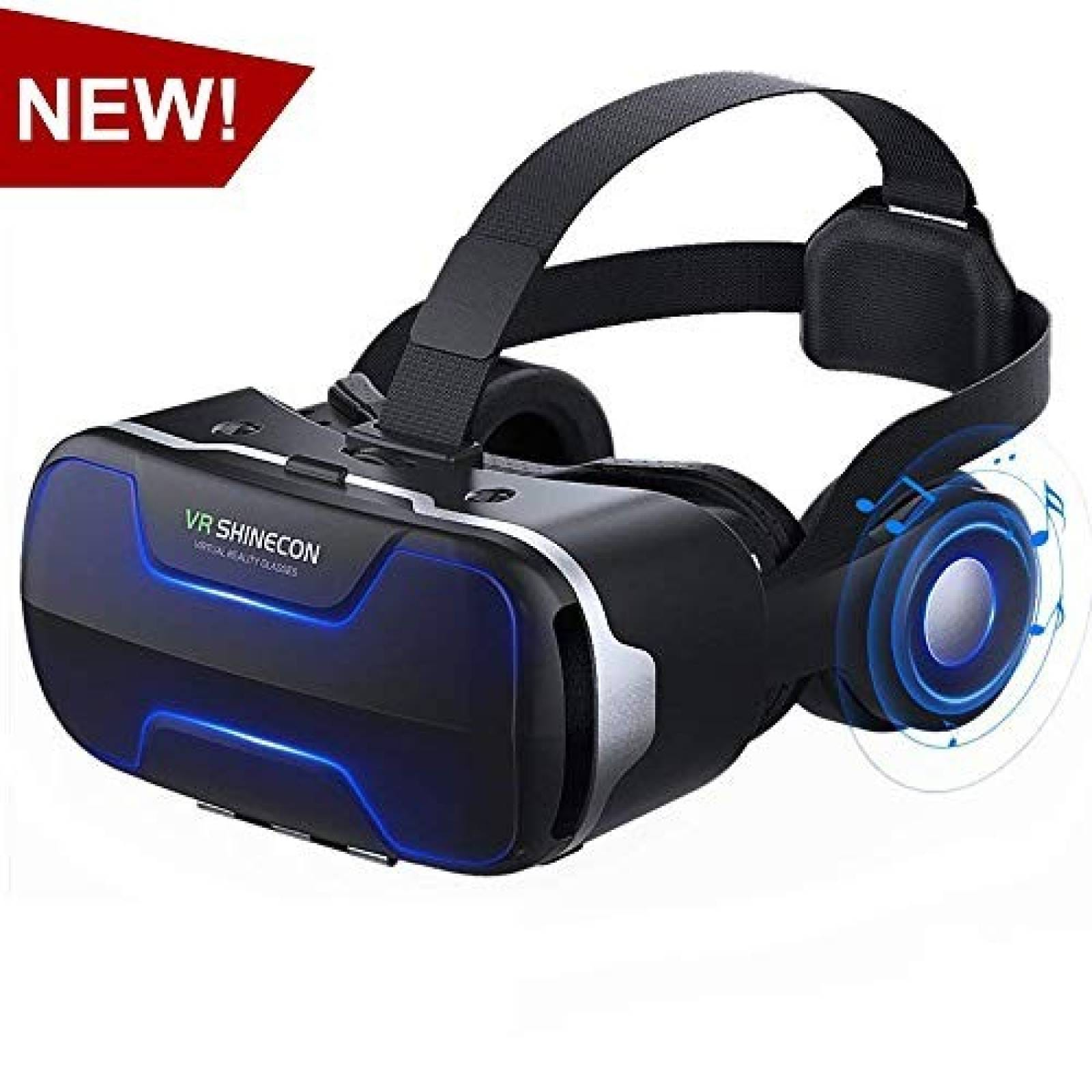 Visor Realidad Virtual VR SHINECON para smartphone 4.7-6.0''