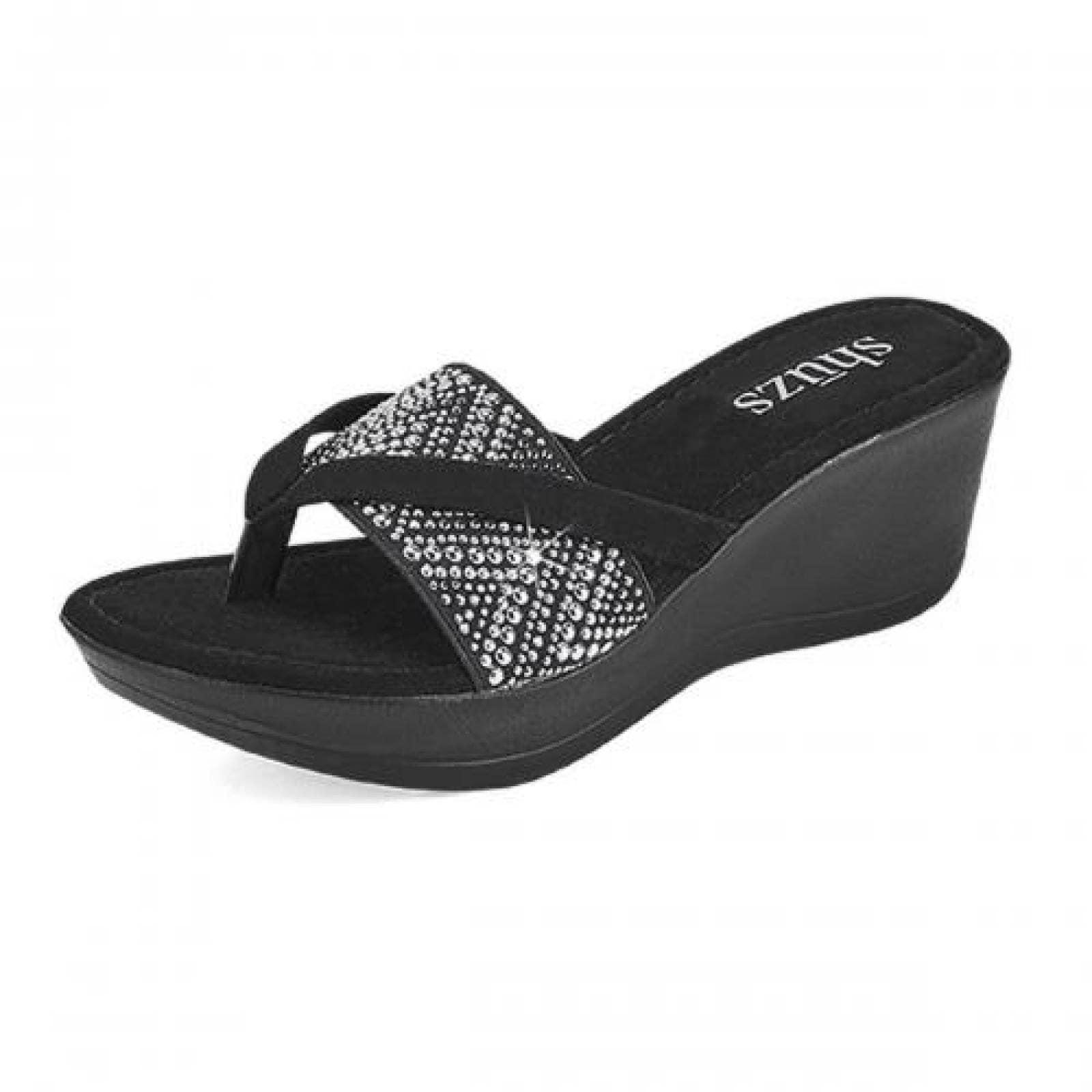 Sandalia para Mujer Shuzs P2404 054929 Color Negro