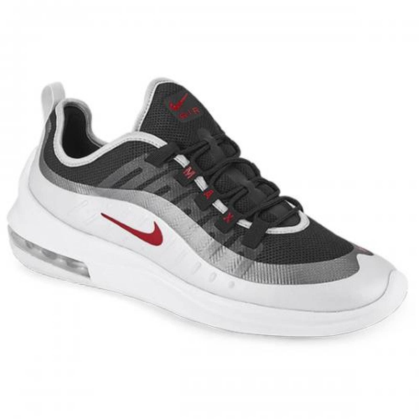 Tenis para Hombre Nike 46009 056136 Color Blanco rojo plata