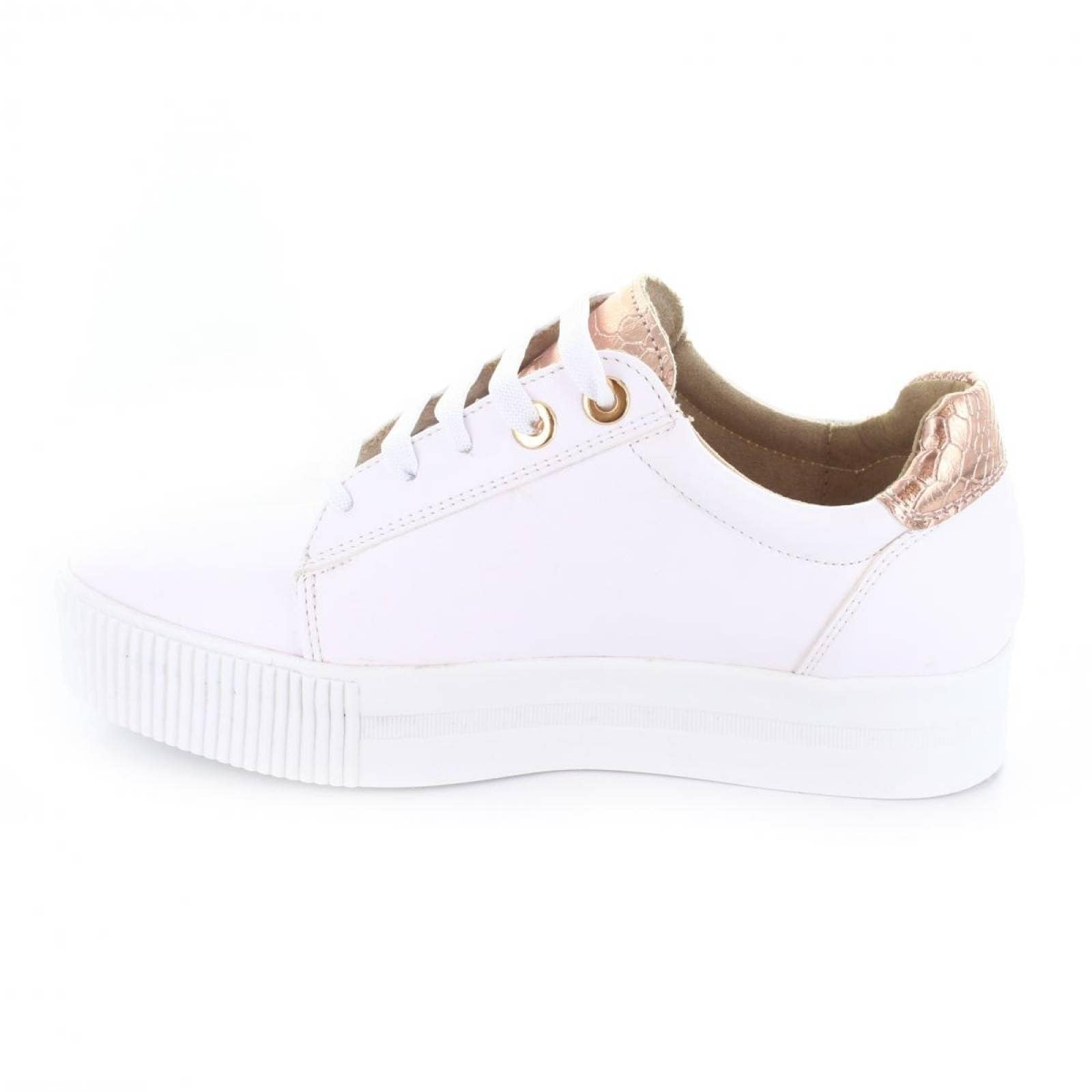 Tenis para Mujer Brantano 2398 046435 Color Blanco