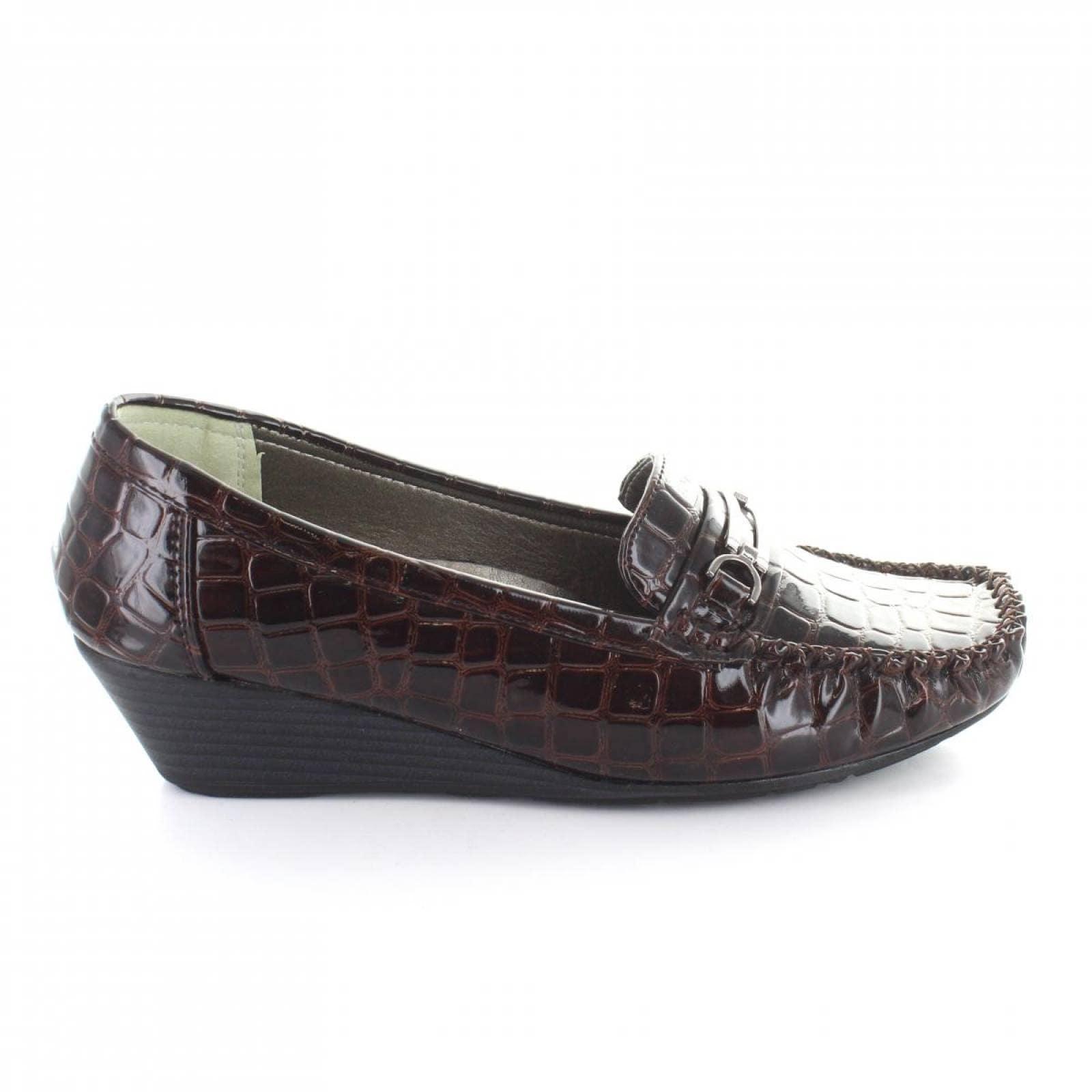 Mocasin para Mujer Comfort Fit 7559 047987 Color Negro