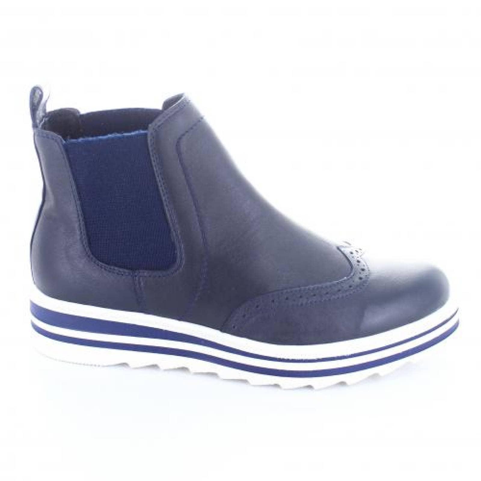Botin para Mujer Brantano 7606 049780 Color Azul
