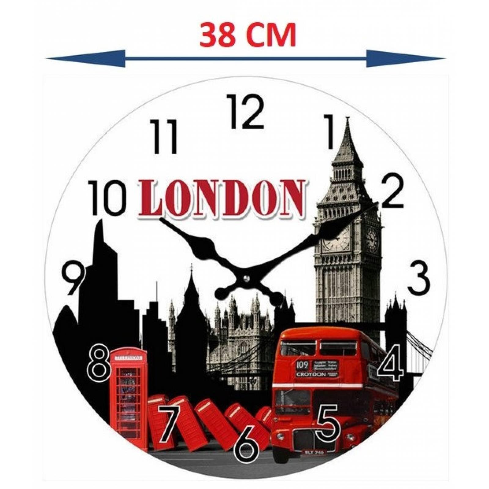 Reloj de cristal imagen de Londres Tutti-Home