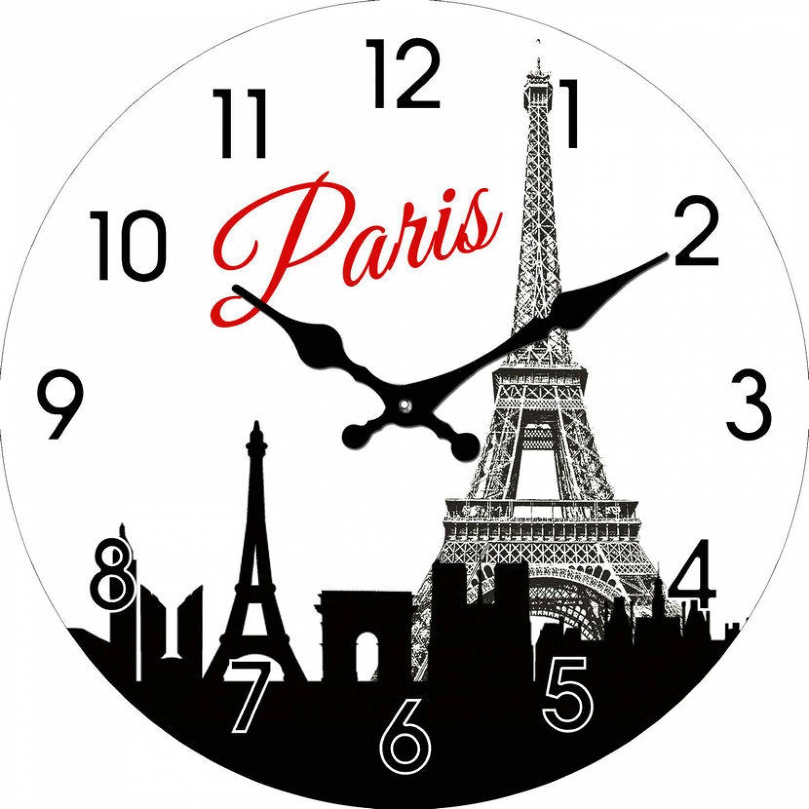 Reloj de cristal imagen de Paris Tutti-Home