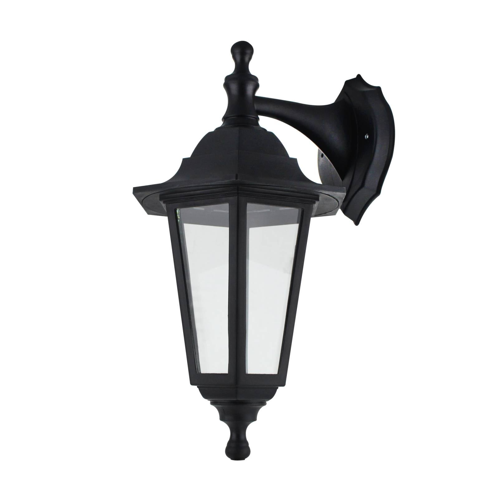 Farol de Pared Colonial Negro Sanelec 1232