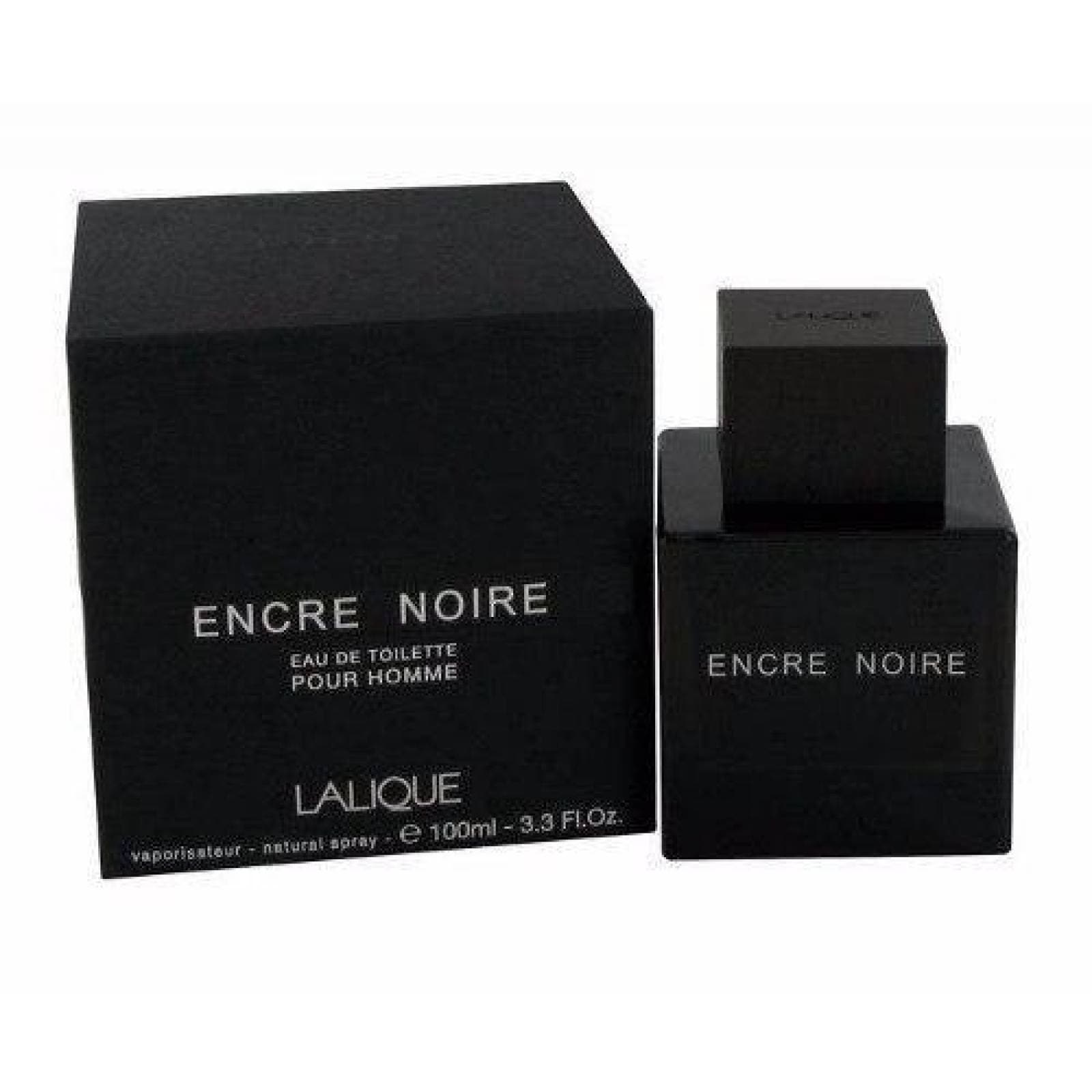 Encre Noire Caballero Lalique 100 Ml Edt Spray - Original