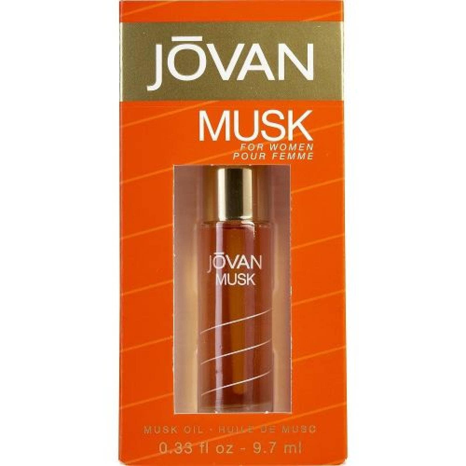 Jovan Musk Dama Oil For Women 9.7 Ml (aceite)
