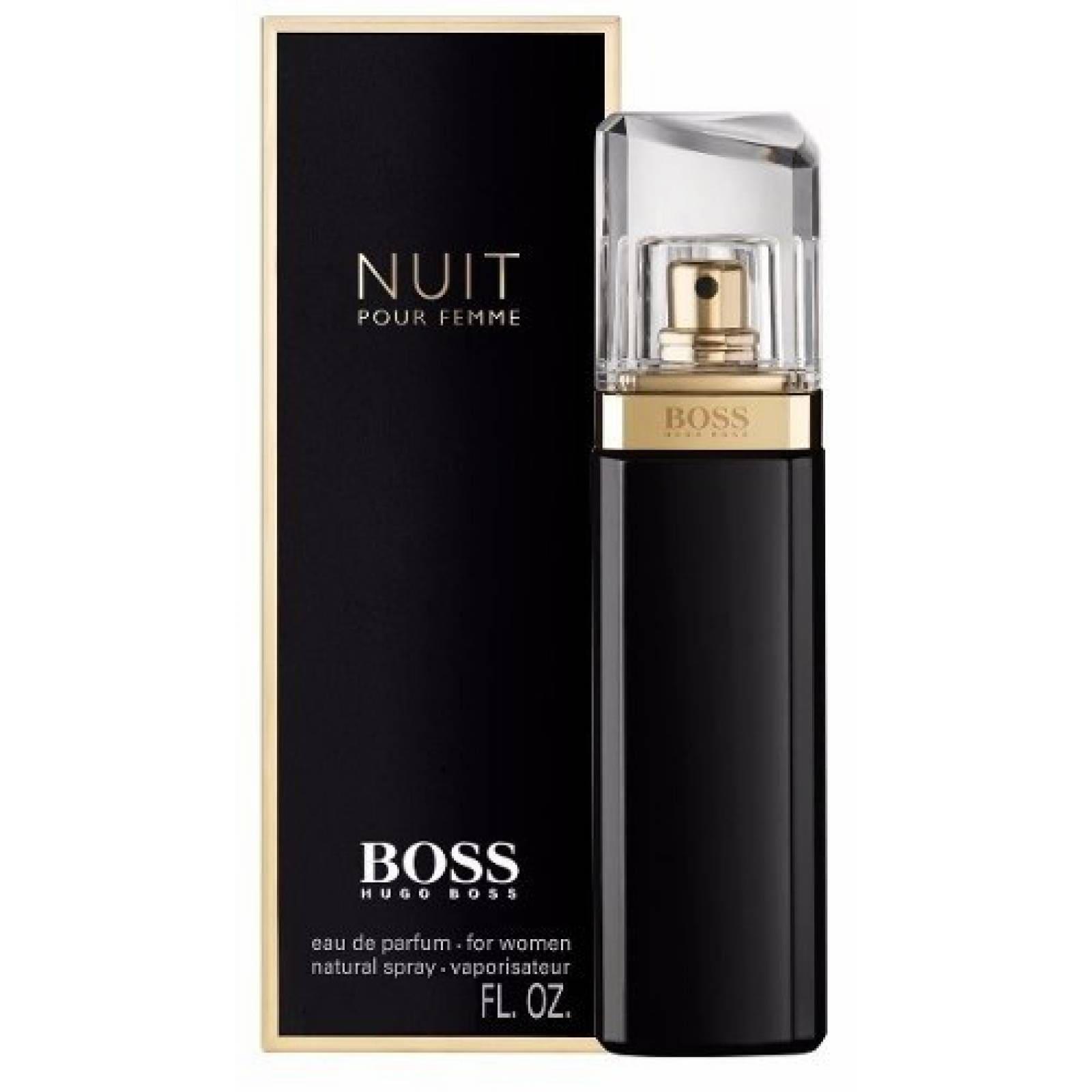Nuit Pour Femme Dama 75 Ml Hugo Boss Edp Spray - Original