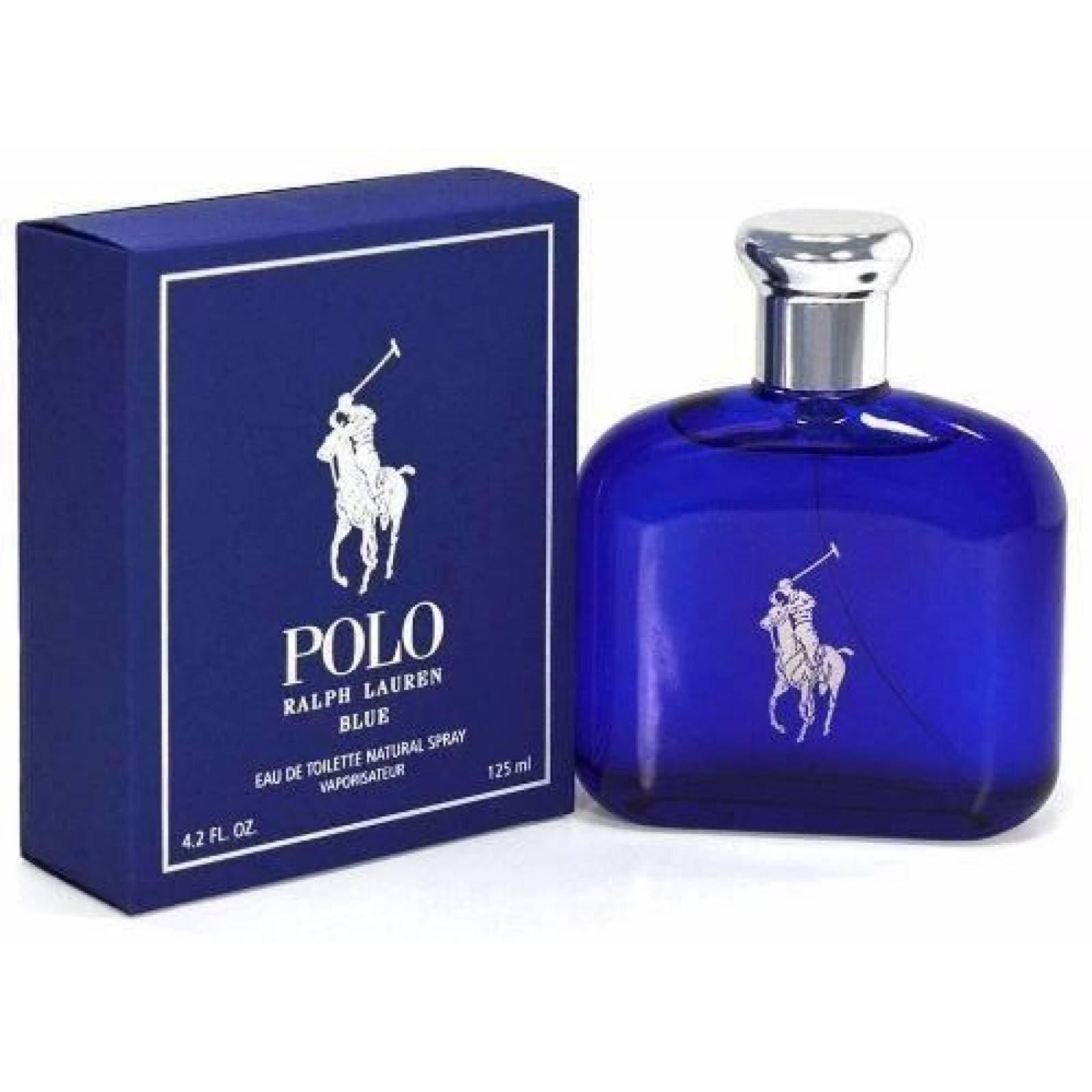 Polo Blue Caballero 125 Ml Ralph Lauren Spray - Original