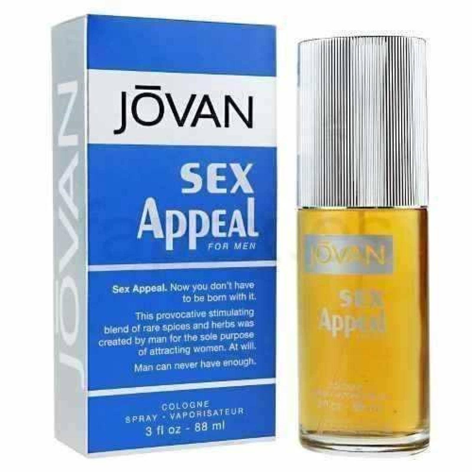 Sex Appeal Caballero Jovan 88 Ml Cologne - Original