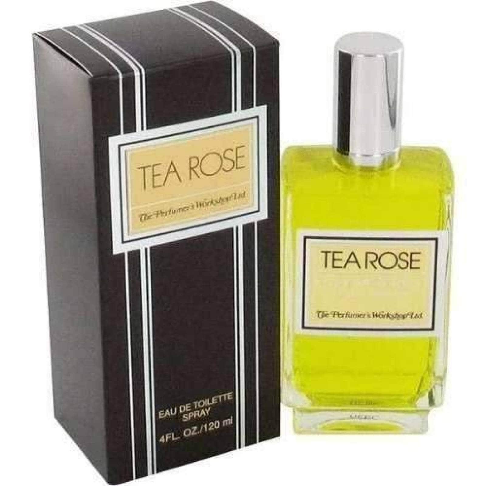 Tea Rose Dama Perfumes Workshop 120 Ml Edt Spray - Original