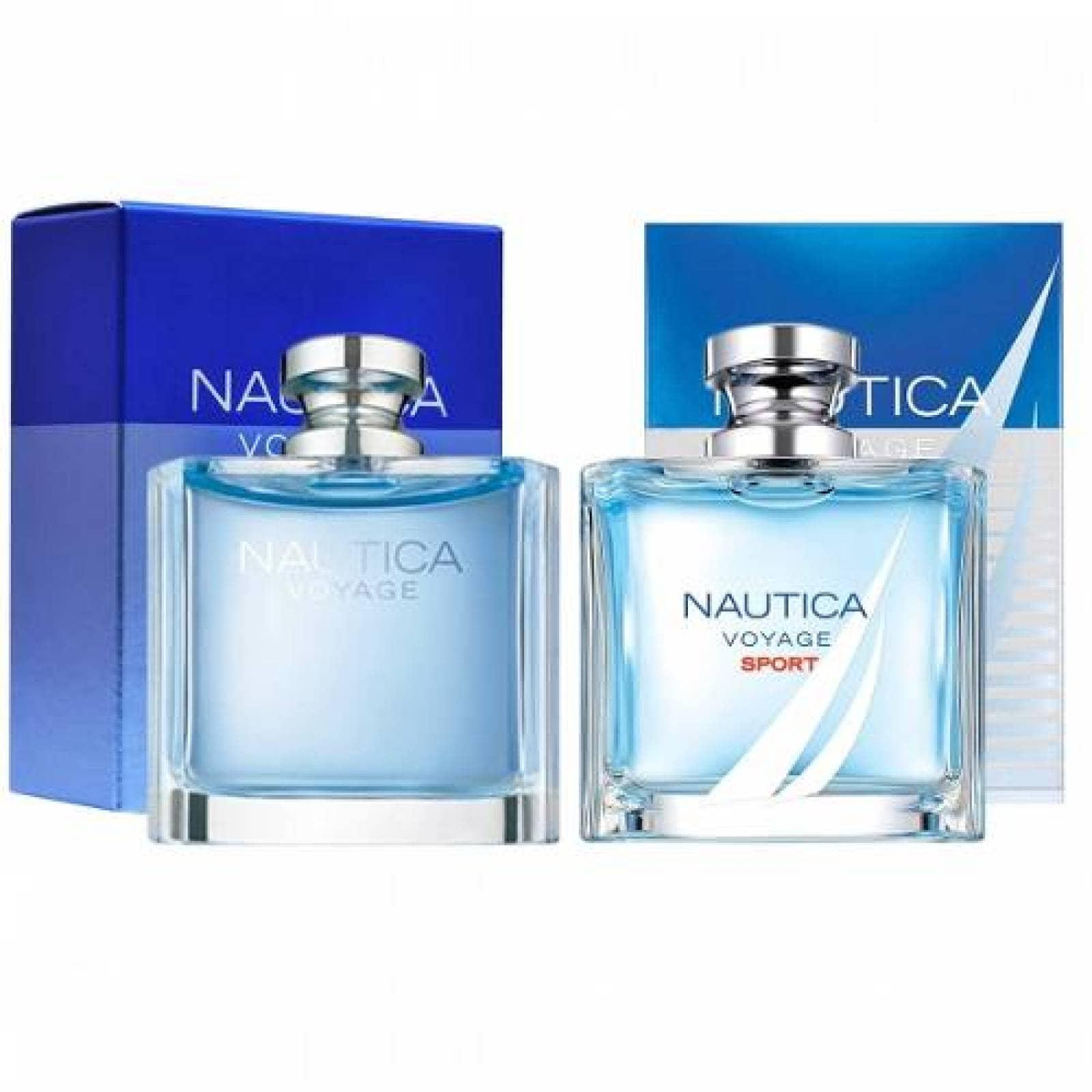 Paquete 2 Perfumes 2X1 Nautica Voyage + Sport Caballero 100 ml Edt Spray