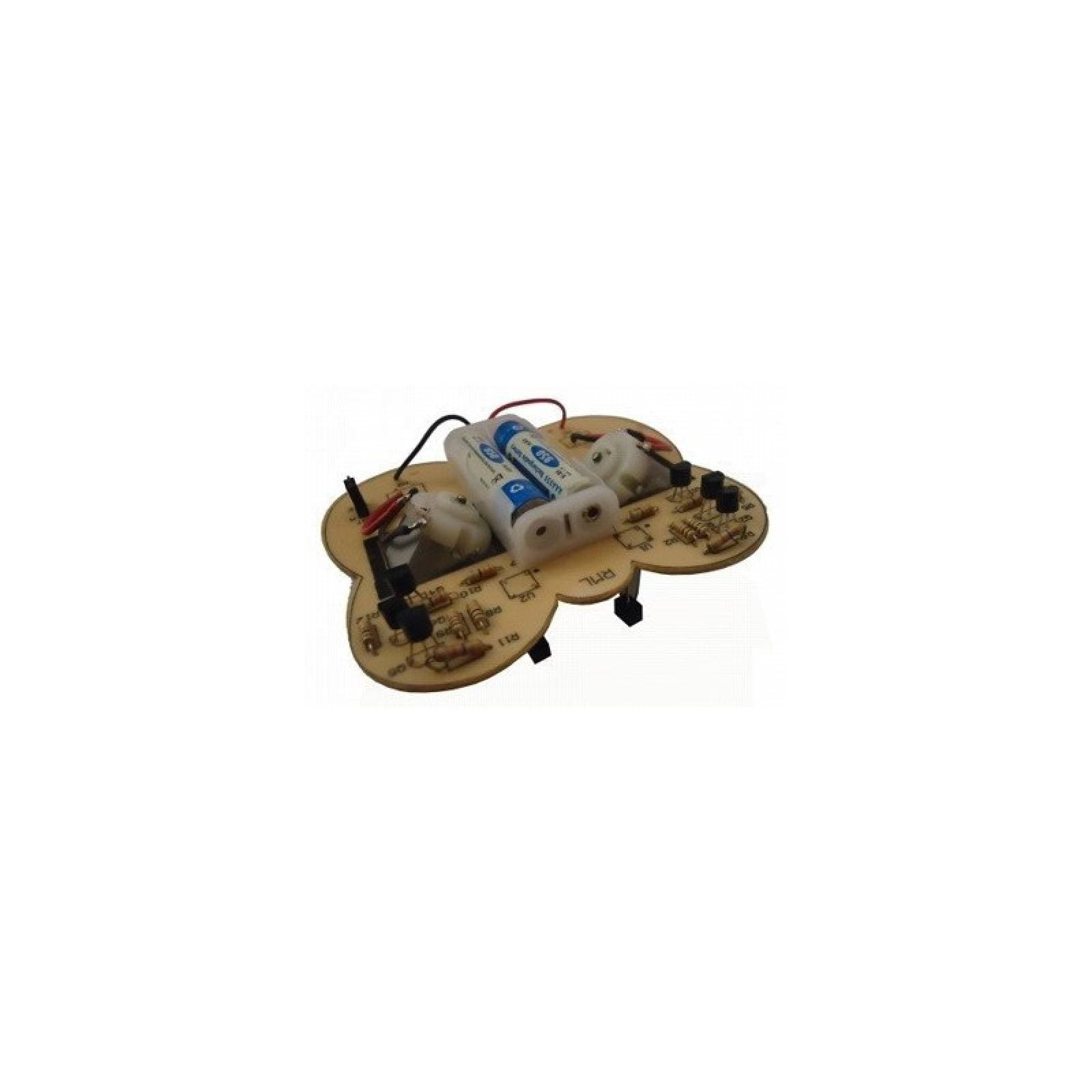 Kit Para Armar Robot Mariposa Seguidora De Líneas Negras