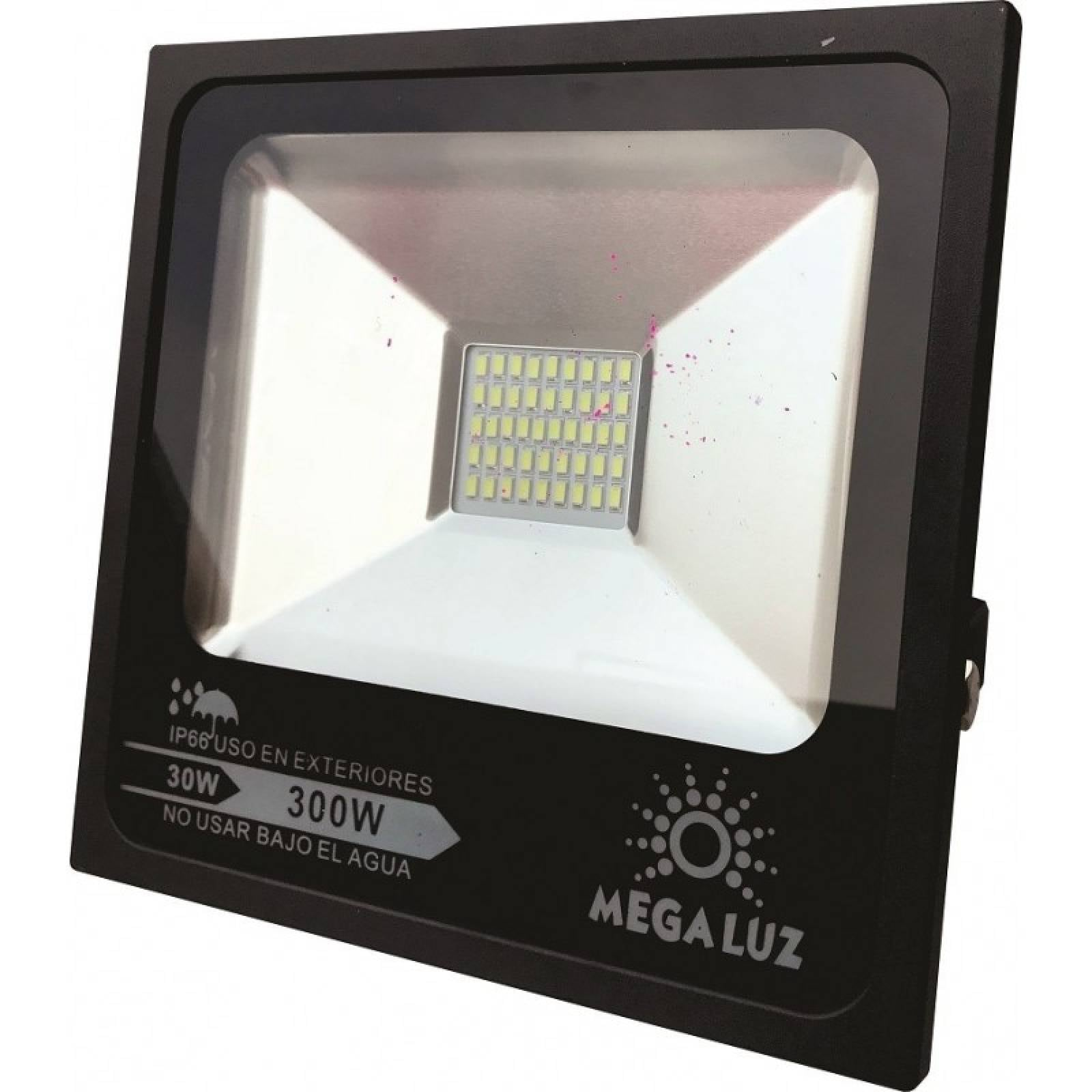 Reflector FLAT Led 30w Blanco Interiores   Exteriores