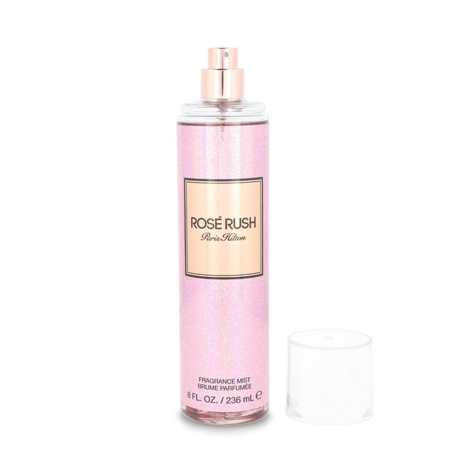 Perfume para Dama Rose Rush 236 ml Body Mist de Paris Hilton