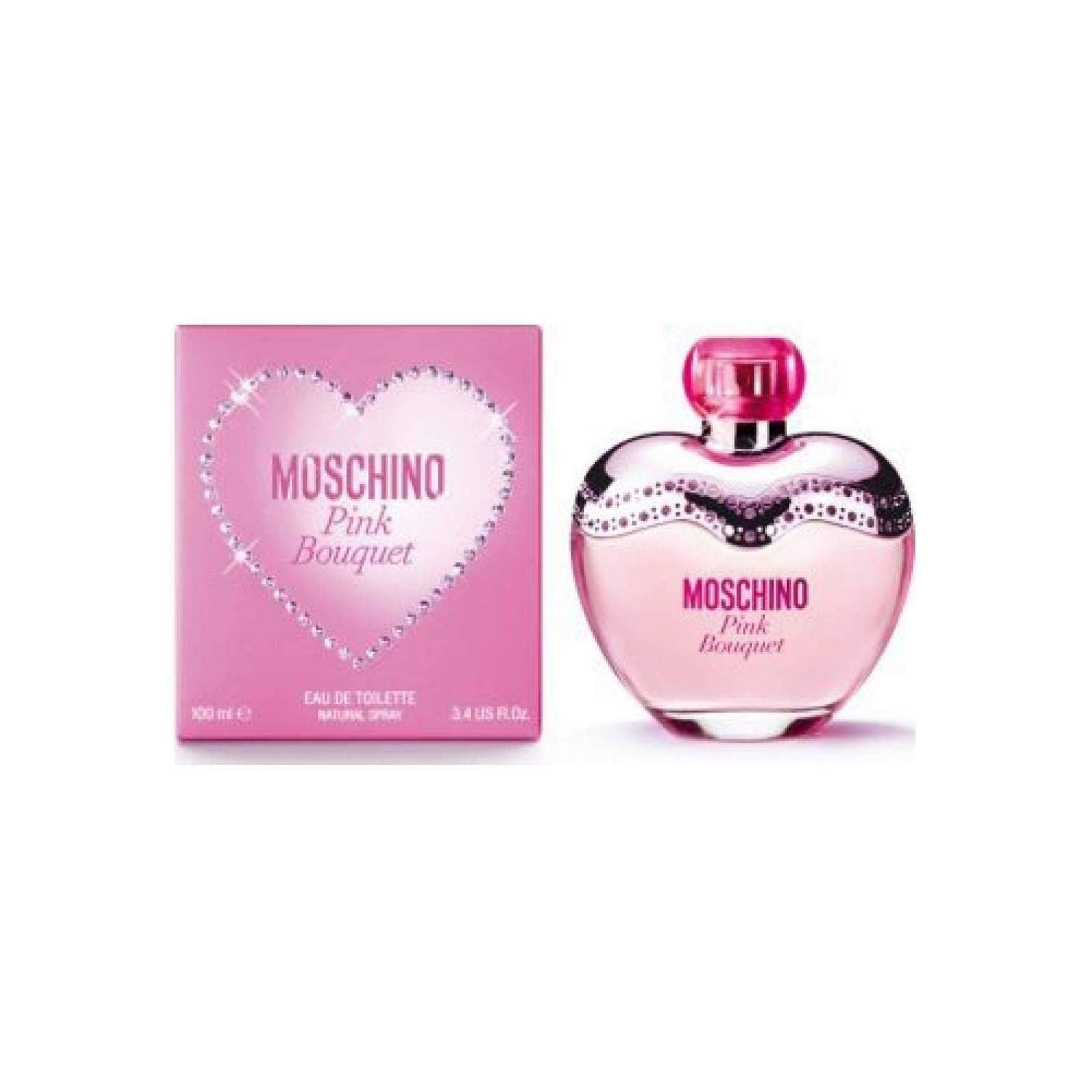 Pink Bouquet de Moschino Eau de Toilette 100 ml Fragancia para Dama