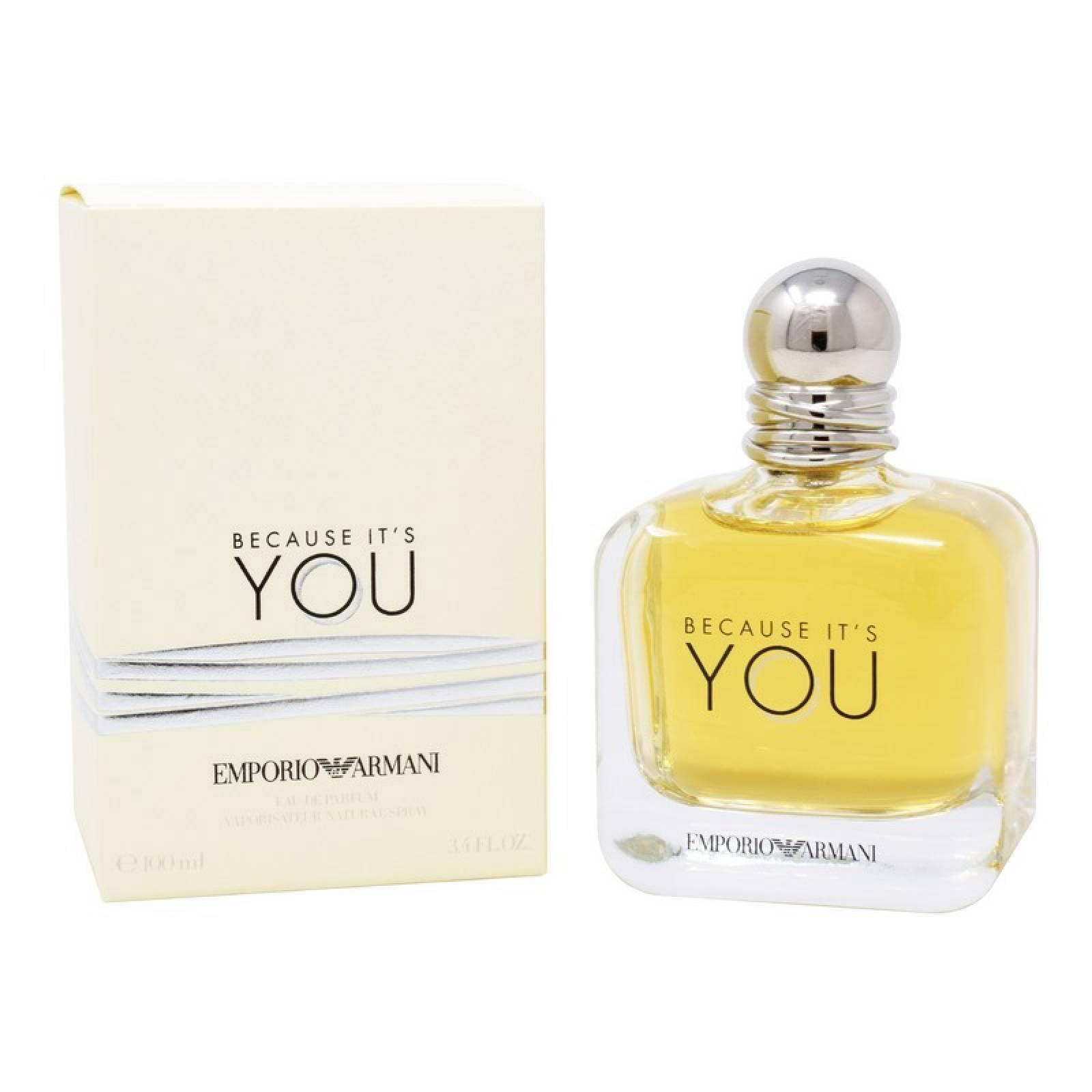 Emporio Armani Because It´S You 100 ml Edp Spray de Giorgio Armani para Dama